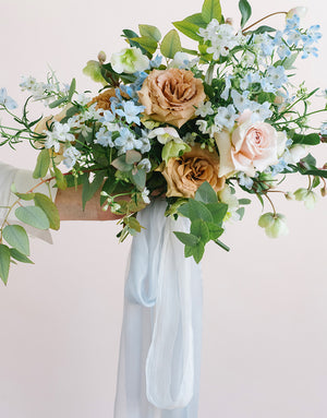 Pale Blue Bouquet Collection - FROUFROU CHIC