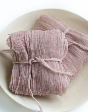 Mauve Rose Original Silk Ribbon