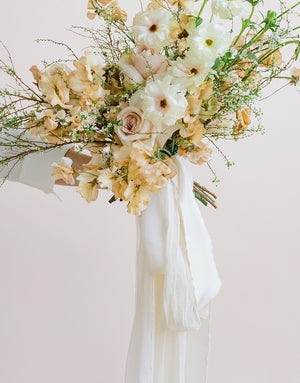 Neutral Cream Bouquet Collection - FROUFROU CHIC