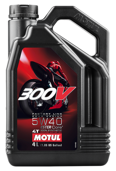 300V 4T Factory Line - Road Racing 5W40