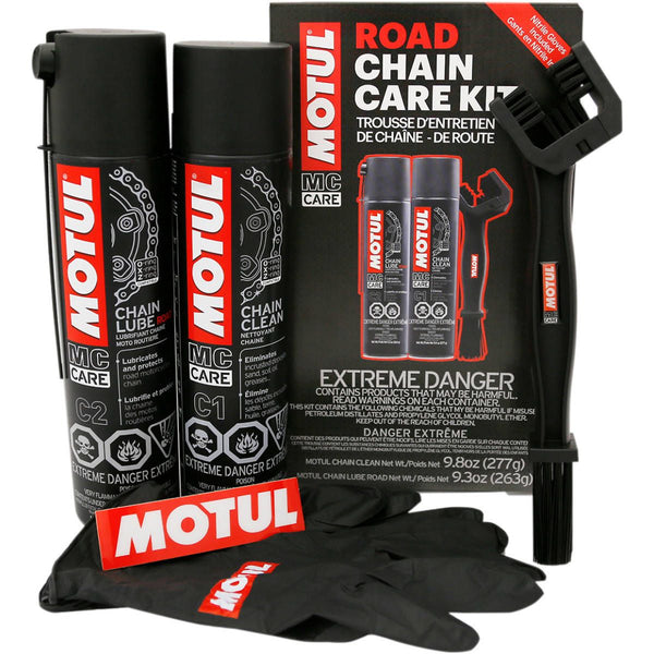 Motul Road Chain Lube care kit