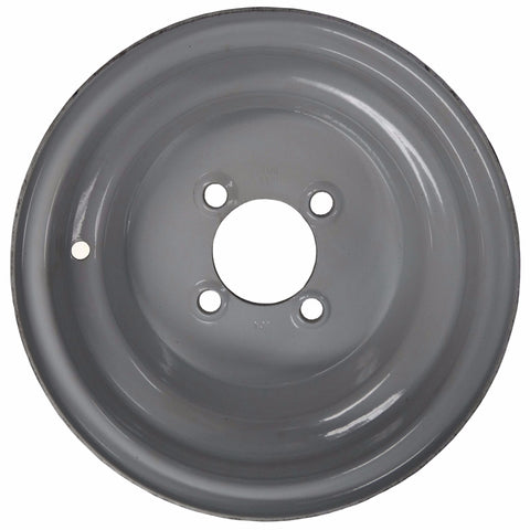 "10"" X 6""/ 4-4""/ Gray Wheel - Covered Wagon Trailers"