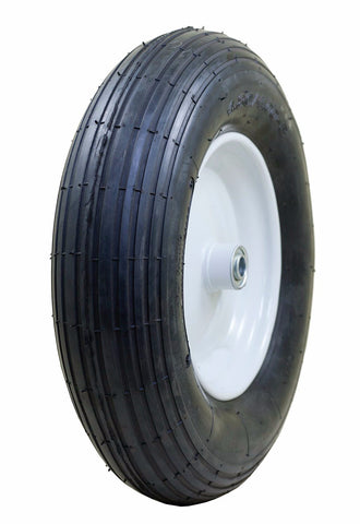 Hi-run 4.80/4.00-8 Flat Free Tire & Wheel - Covered Wagon Trailers