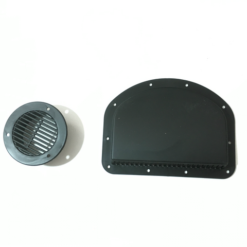 2-Piece Trailer Side Wall Vent - Covered Wagon Trailers
