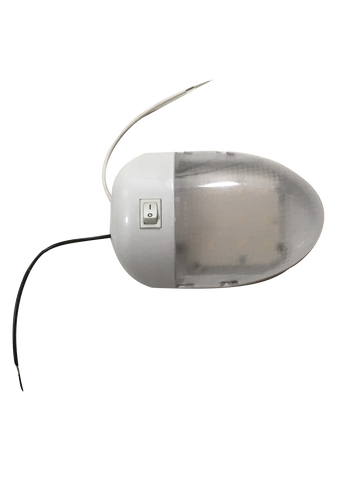 Trailer Interior LED Dome Light by Optronics - Covered Wagon Trailers