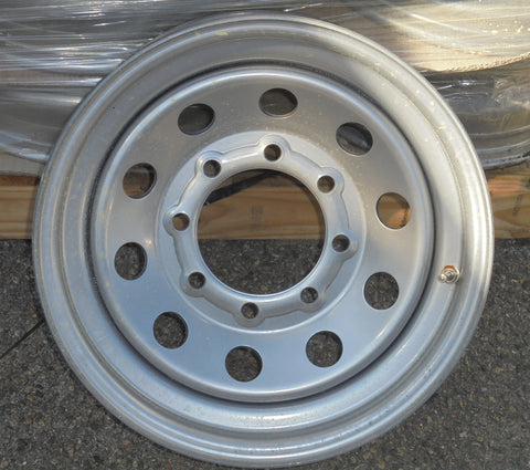16x6 8-6.5 Silver Mod Wheel - Covered Wagon Trailers