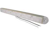 Optronics LED Identification Light Bar, 2 Wire, 3 Diode - Red w/ Clear - Covered Wagon Trailers