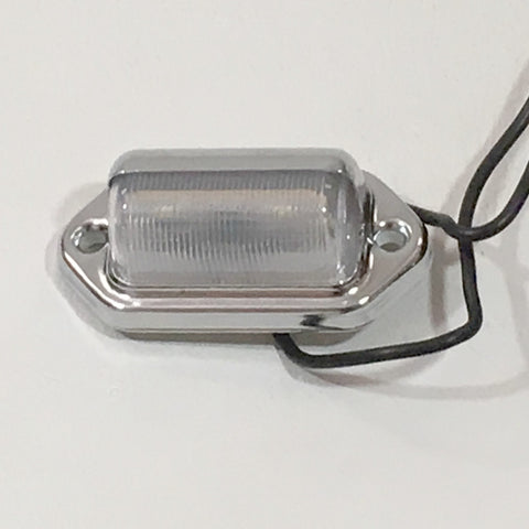 Tag/Licence Plate Light by Optronics - Covered Wagon Trailers