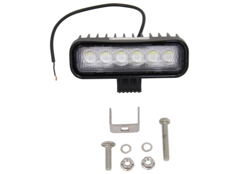 "6""x 2"" LED Loading Light 720 Lumens - Covered Wagon Trailers"