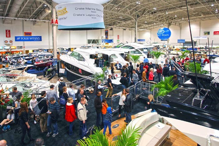 Bluechem Toronto International Boat Show 2017
