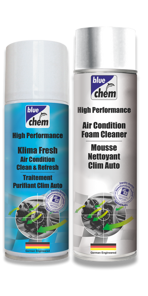 AC Foam Cleaner & Klima Fresh - Fluid Vaporiser Bundle