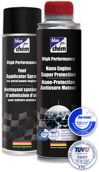 Bluechem products are developed using the latest and most effective methods