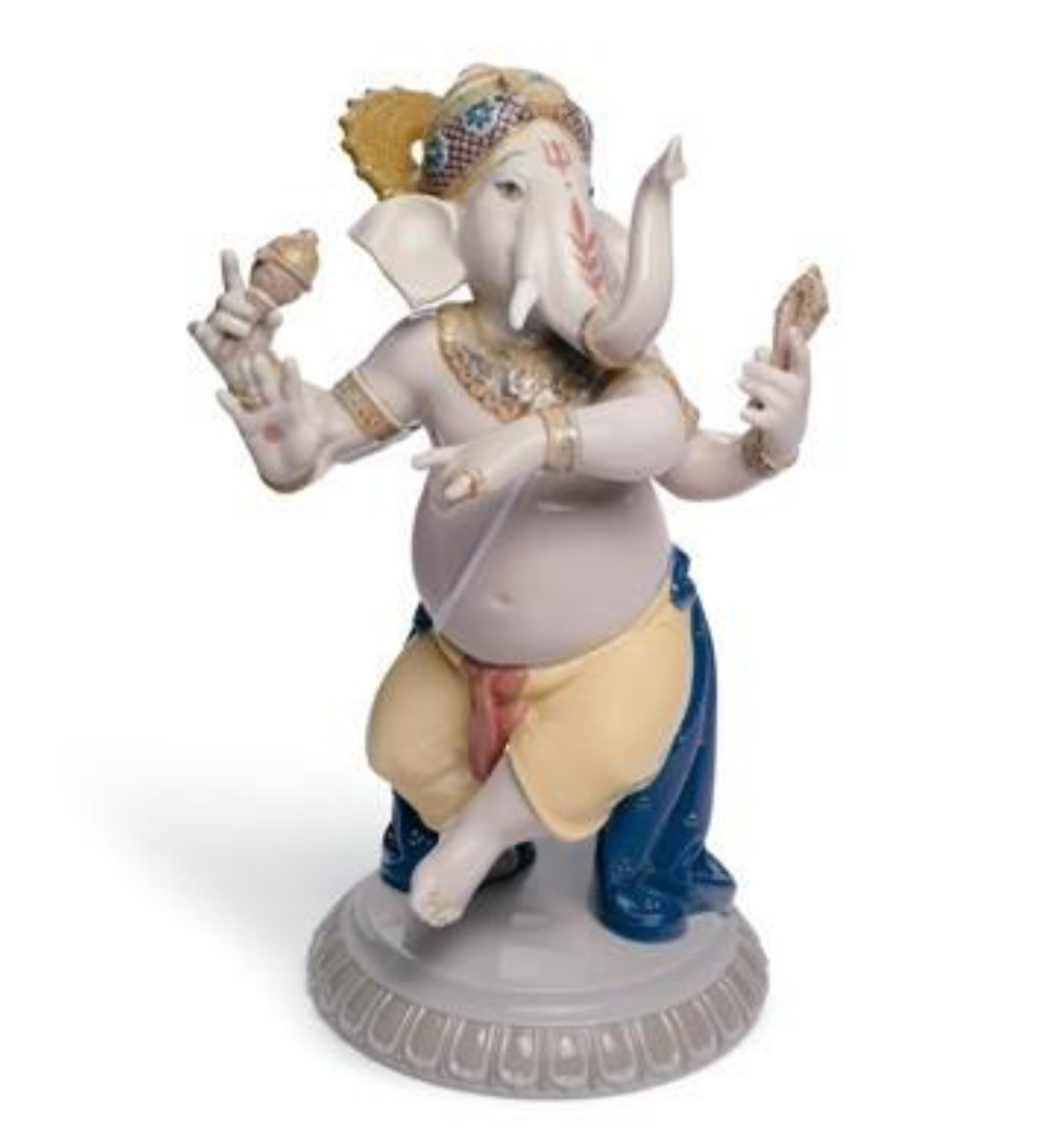 Lladro dancing ganesha gallery of home decor - Consider including lladro porcelain figurines home decoration ...