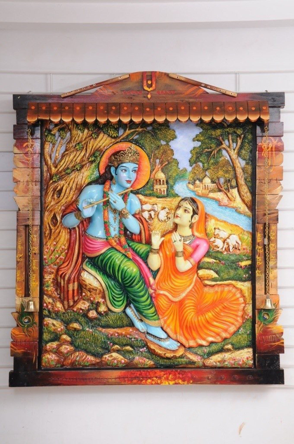 Radha Krishna 3D Large Wall Art Part 85