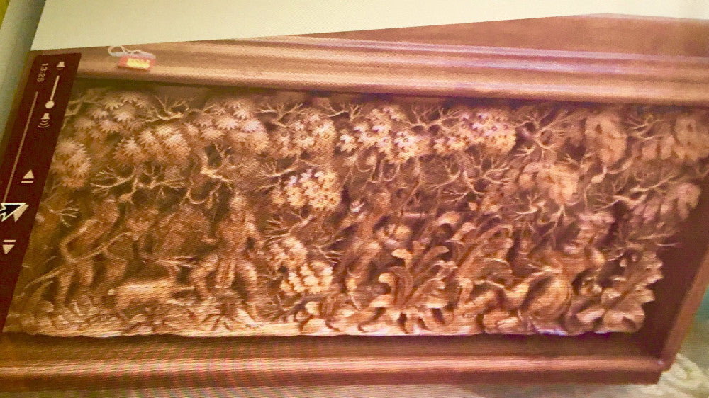 3D Large One Of A Kind Indonesian Wood Carving Wall Decor – Gallery ...