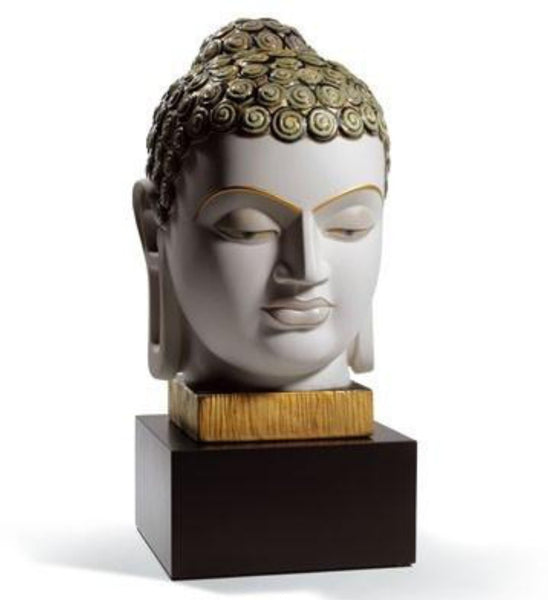 Lladro buddha ii golden and blue porcelain figurine 1008435l gallery of home decor - Consider including lladro porcelain figurines home decoration ...