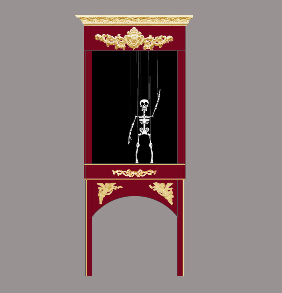 Skelly, the Computerized Marionette Coming Soon
