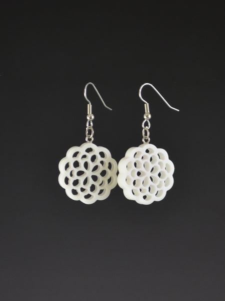 Upcycled Corian Earrings