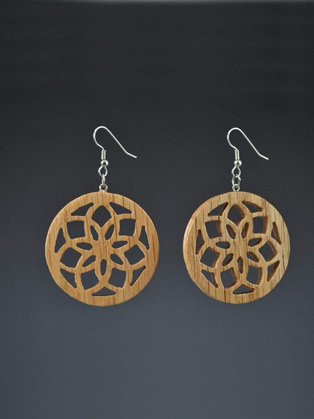 Upcycled Wood Earrings