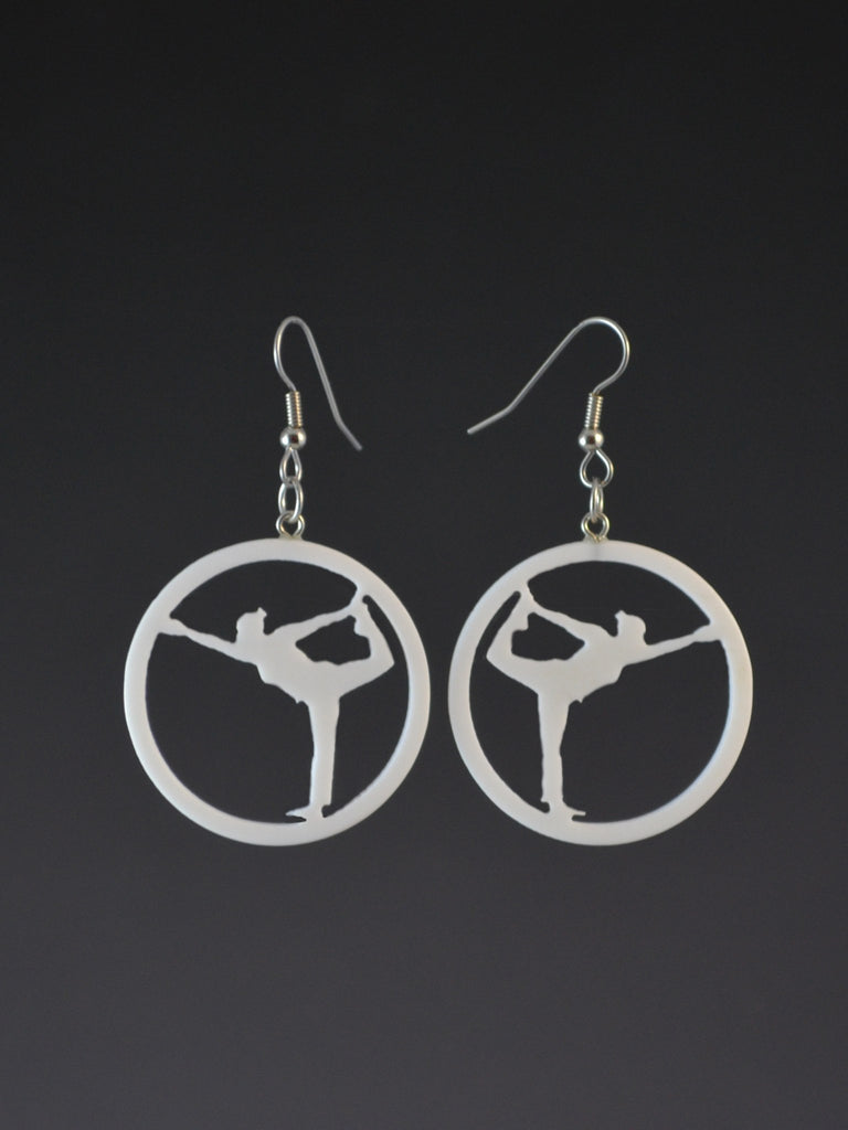 Natarajasana earrings