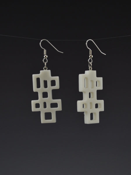 Wright 2 Corian Earrings