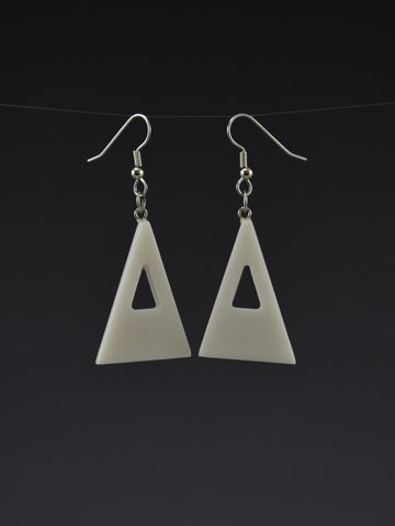Triangle Corian Earrings