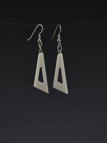 Triangle2 Corian Earrings