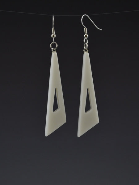 Triangle3 Corian Earrings