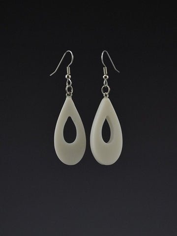 Teardrop Large Corian Earrings