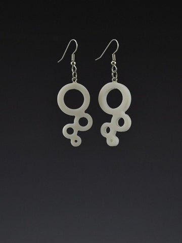 Bubble Small Corian Earrings