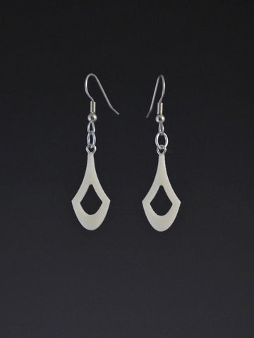 Chevron Small Corian Earrings