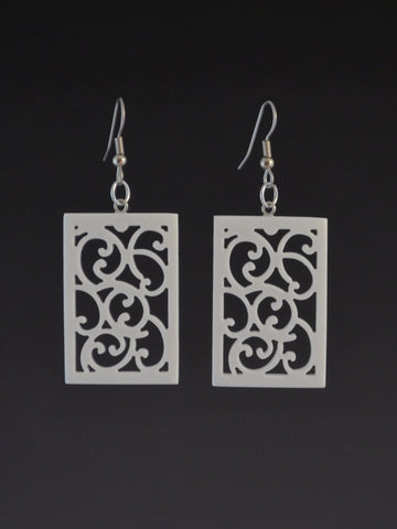 Filigree Corian Earrings