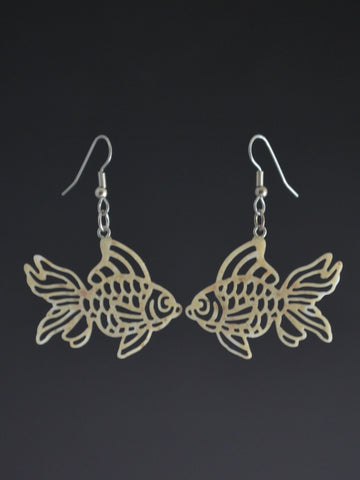 Fish Corian Earrings