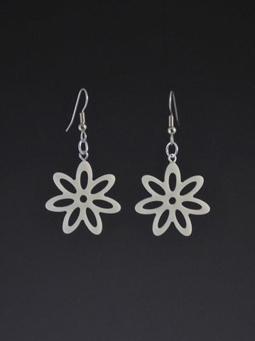 Flower Small Corian Earrings