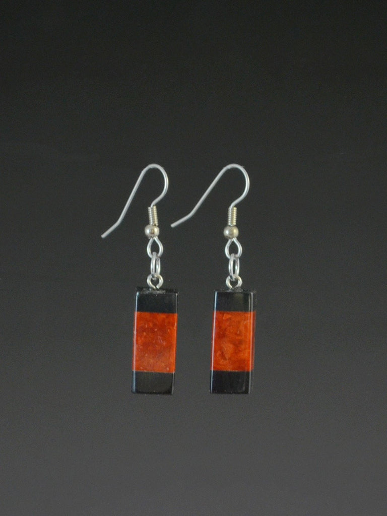 Formica Earrings  Copper Artifacts