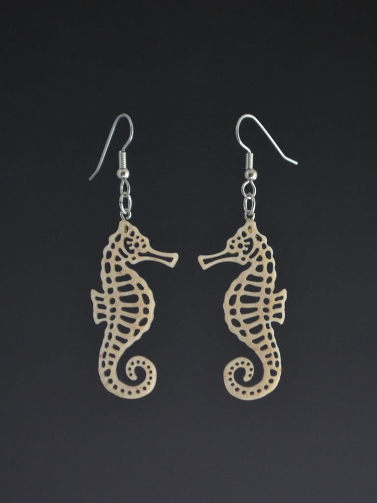 Seahorse Corian Earrings