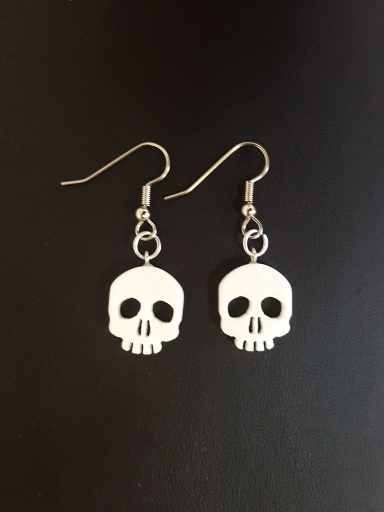 Skull Corian Earrings