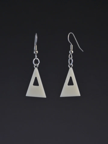 Triangle Small Corian Earrings
