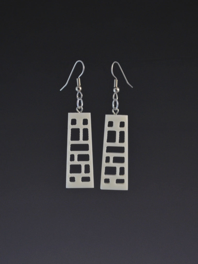 Wright 1 Small Corian Earrings