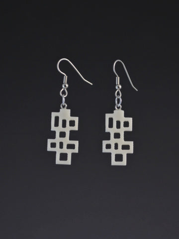 Wright 2 Small Corian Earrings