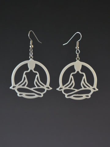 Yoga Lotus Earrings