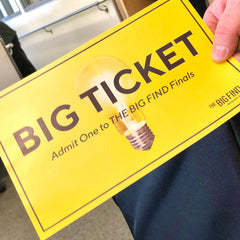 Big yellow ticket for QVC Big Find