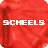 Scheels Department Store thumbnail red background with name overtop