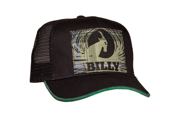 Trucker Hat - Flannel on Black