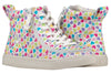 Kid's Hearts BILLY Classic Lace Highs - BILLY Footwear®
