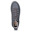 Men's Black to the Floor BILLY Classic Lace High, zipper, shoes, velcro, adaptive, accessible, afo, universal, kids, comfortable, BILLY Footwear