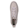 Men's Grey Jersey BILLY Classic Lace High, zipper, shoes, velcro, adaptive, accessible, afo, universal, kids, comfortable, BILLY Footwear