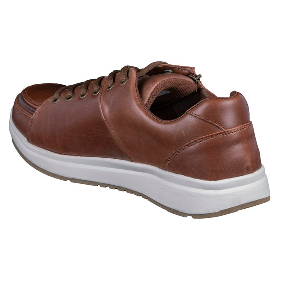 Men's Brown Leather BILLY Comfort Lows - BILLY Footwear®