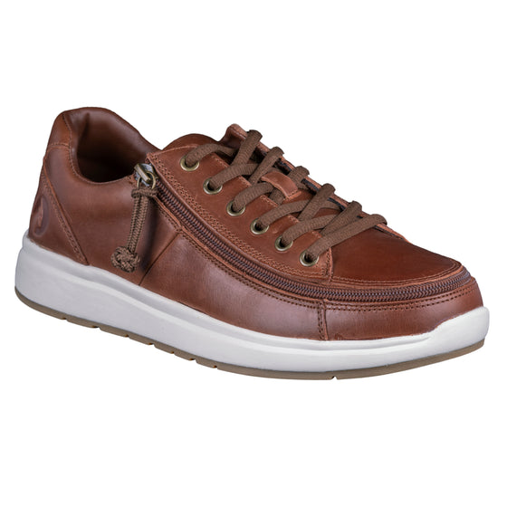 Men's Brown Leather BILLY Comfort Lows (wide)