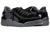 Men's Black Suede/Mesh BILLY Comfort Classic Lows, zipper shoes, like velcro, that are adaptive, accessible, inclusive and use universal design to accommodate an afo. Footwear is medium and wide width, M, D and EEE, are comfortable, and come in toddler, kids, mens, and womens sizing.